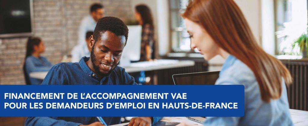 Financement accompagnement VAE par la région Hauts-de-France