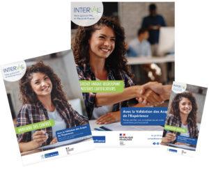 Kit De Communication Interval VAE présentant les différents supports