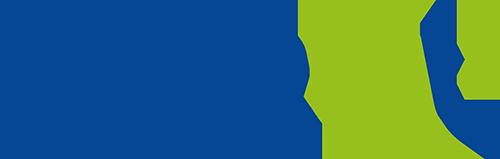 Logo Interval bleu et vert