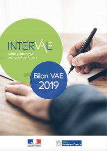 Bilan VAE Interval datant de 2019 et regroupant l'ensemble des statistiques par ministères engagés dans le projet