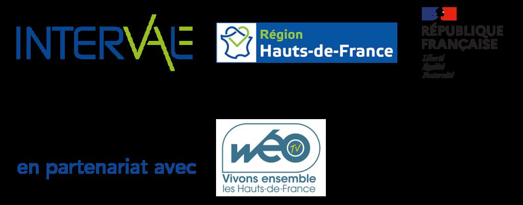 Panel de différents logos Interval et de ses partenaires